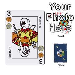 Decktet En Español By Carlos   Playing Cards 54 Designs   Zq9y1kmckfng   Www Artscow Com Front - Spade9
