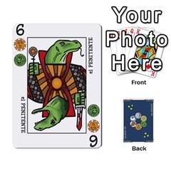 Decktet En Español By Carlos   Playing Cards 54 Designs   Zq9y1kmckfng   Www Artscow Com Front - Spade10