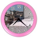 roman time - Color Wall Clock