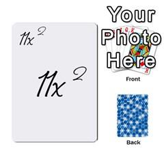 Queen Algebra Rummy By Tracy Jarman   Playing Cards 54 Designs   1msaxqb18ruk   Www Artscow Com Front - SpadeQ
