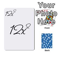 King Algebra Rummy By Tracy Jarman   Playing Cards 54 Designs   1msaxqb18ruk   Www Artscow Com Front - SpadeK