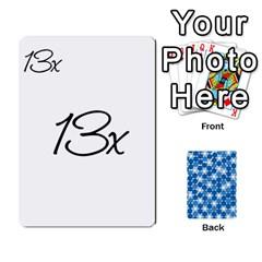 Ace Algebra Rummy By Tracy Jarman   Playing Cards 54 Designs   1msaxqb18ruk   Www Artscow Com Front - HeartA