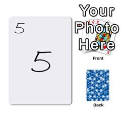 Algebra Rummy By Tracy Jarman   Playing Cards 54 Designs   1msaxqb18ruk   Www Artscow Com Front - Diamond6