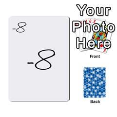 Algebra Rummy By Tracy Jarman   Playing Cards 54 Designs   1msaxqb18ruk   Www Artscow Com Front - Diamond9