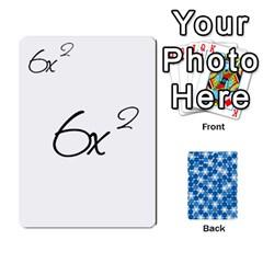 Algebra Rummy By Tracy Jarman   Playing Cards 54 Designs   1msaxqb18ruk   Www Artscow Com Front - Spade7