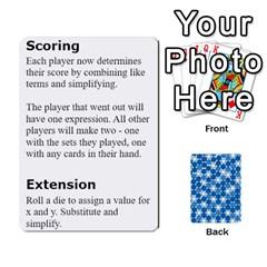 Algebra Rummy By Tracy Jarman   Playing Cards 54 Designs   1msaxqb18ruk   Www Artscow Com Front - Joker2