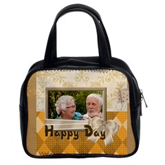 Happy Day By Joely   Classic Handbag (two Sides)   6ksximg0i03w   Www Artscow Com Front