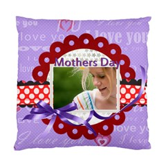 Mothers Day By Joely   Standard Cushion Case (two Sides)   Hixrmvwul0o4   Www Artscow Com Back