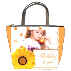 Brithday To You By Joely   Bucket Bag   Nw1u6vav2b0p   Www Artscow Com Front