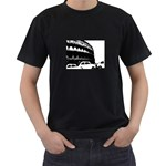 the rush hour (in Rome)  - t-shirt - Men s T-Shirt (Black)