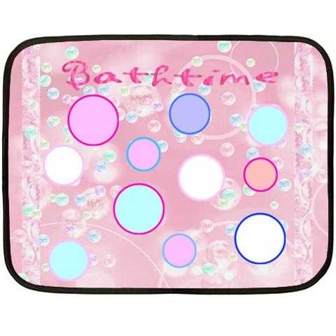 Bathtime Mini Blanket By Birkie   Fleece Blanket (mini)   19lisincodzs   Www Artscow Com 35 x27 Blanket