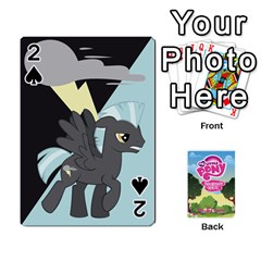 Mlp Playing Cards By Raymond Zhuang   Playing Cards 54 Designs   Vfvcn4uqo34e   Www Artscow Com Front - Spade2