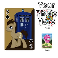 Mlp Playing Cards By Raymond Zhuang   Playing Cards 54 Designs   Vfvcn4uqo34e   Www Artscow Com Front - Spade3
