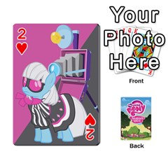 Mlp Playing Cards By Raymond Zhuang   Playing Cards 54 Designs   Vfvcn4uqo34e   Www Artscow Com Front - Heart2