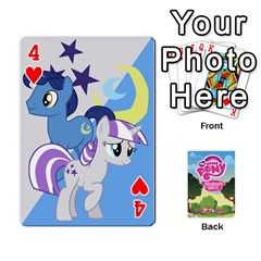 Mlp Playing Cards By Raymond Zhuang   Playing Cards 54 Designs   Vfvcn4uqo34e   Www Artscow Com Front - Heart4