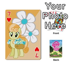 Mlp Playing Cards By Raymond Zhuang   Playing Cards 54 Designs   Vfvcn4uqo34e   Www Artscow Com Front - Heart7
