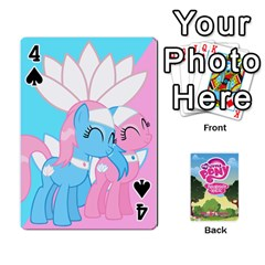 Mlp Playing Cards By Raymond Zhuang   Playing Cards 54 Designs   Vfvcn4uqo34e   Www Artscow Com Front - Spade4