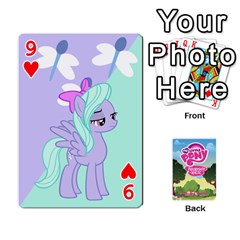 Mlp Playing Cards By Raymond Zhuang   Playing Cards 54 Designs   Vfvcn4uqo34e   Www Artscow Com Front - Heart9