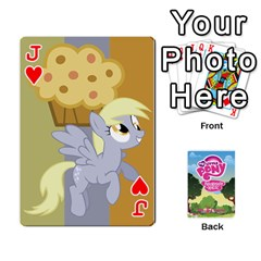 Jack Mlp Playing Cards By Raymond Zhuang   Playing Cards 54 Designs   Vfvcn4uqo34e   Www Artscow Com Front - HeartJ