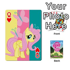 Queen Mlp Playing Cards By Raymond Zhuang   Playing Cards 54 Designs   Vfvcn4uqo34e   Www Artscow Com Front - HeartQ
