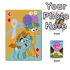 Mlp Playing Cards By Raymond Zhuang   Playing Cards 54 Designs   Vfvcn4uqo34e   Www Artscow Com Front - Diamond4