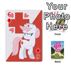 Mlp Playing Cards By Raymond Zhuang   Playing Cards 54 Designs   Vfvcn4uqo34e   Www Artscow Com Front - Diamond6