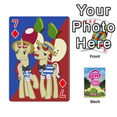 Mlp Playing Cards By Raymond Zhuang   Playing Cards 54 Designs   Vfvcn4uqo34e   Www Artscow Com Front - Diamond7
