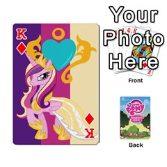 King Mlp Playing Cards By Raymond Zhuang   Playing Cards 54 Designs   Vfvcn4uqo34e   Www Artscow Com Front - DiamondK