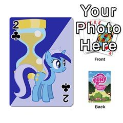 Mlp Playing Cards By Raymond Zhuang   Playing Cards 54 Designs   Vfvcn4uqo34e   Www Artscow Com Front - Club2