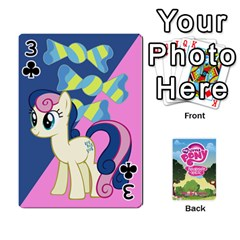 Mlp Playing Cards By Raymond Zhuang   Playing Cards 54 Designs   Vfvcn4uqo34e   Www Artscow Com Front - Club3