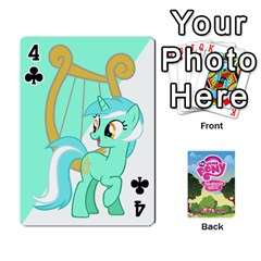Mlp Playing Cards By Raymond Zhuang   Playing Cards 54 Designs   Vfvcn4uqo34e   Www Artscow Com Front - Club4