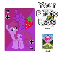 Mlp Playing Cards By Raymond Zhuang   Playing Cards 54 Designs   Vfvcn4uqo34e   Www Artscow Com Front - Club7