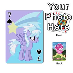 Mlp Playing Cards By Raymond Zhuang   Playing Cards 54 Designs   Vfvcn4uqo34e   Www Artscow Com Front - Spade7