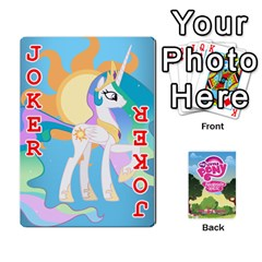 Mlp Playing Cards By Raymond Zhuang   Playing Cards 54 Designs   Vfvcn4uqo34e   Www Artscow Com Front - Joker2