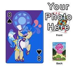 Mlp Playing Cards By Raymond Zhuang   Playing Cards 54 Designs   Vfvcn4uqo34e   Www Artscow Com Front - Spade8