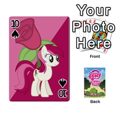 Mlp Playing Cards By Raymond Zhuang   Playing Cards 54 Designs   Vfvcn4uqo34e   Www Artscow Com Front - Spade10