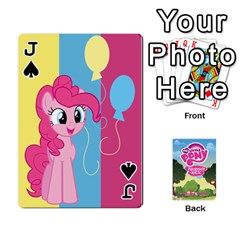 Jack Mlp Playing Cards By Raymond Zhuang   Playing Cards 54 Designs   Vfvcn4uqo34e   Www Artscow Com Front - SpadeJ