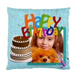 happy birthday - Standard Cushion Case (Two Sides)