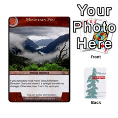 Advanced Outdoor Survival Swamp And Mountain Encounter Deck By Michael   Playing Cards 54 Designs   00p1awo92z1v   Www Artscow Com Front - Heart4