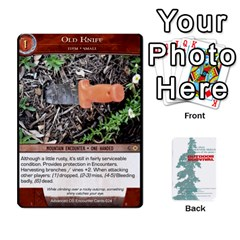 Advanced Outdoor Survival Swamp And Mountain Encounter Deck By Michael   Playing Cards 54 Designs   00p1awo92z1v   Www Artscow Com Front - Diamond2