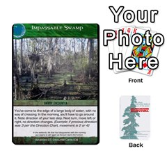Advanced Outdoor Survival Swamp And Mountain Encounter Deck By Michael   Playing Cards 54 Designs   00p1awo92z1v   Www Artscow Com Front - Diamond7