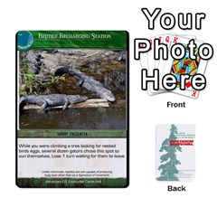 Advanced Outdoor Survival Swamp And Mountain Encounter Deck By Michael   Playing Cards 54 Designs   00p1awo92z1v   Www Artscow Com Front - Diamond9