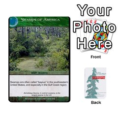 Advanced Outdoor Survival Swamp And Mountain Encounter Deck By Michael   Playing Cards 54 Designs   00p1awo92z1v   Www Artscow Com Front - Club8