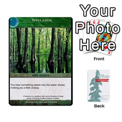 Advanced Outdoor Survival Swamp And Mountain Encounter Deck By Michael   Playing Cards 54 Designs   00p1awo92z1v   Www Artscow Com Front - Club9