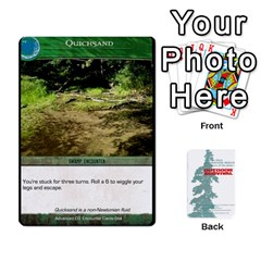 Advanced Outdoor Survival Swamp And Mountain Encounter Deck By Michael   Playing Cards 54 Designs   00p1awo92z1v   Www Artscow Com Front - Club10