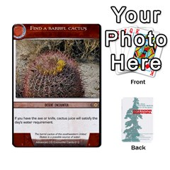 Advanced Outdoor Survival Forest And Desert Encounter Deck By Michael   Playing Cards 54 Designs   Jf3o4cc8g3ml   Www Artscow Com Front - Spade2