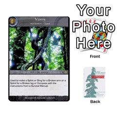 Advanced Outdoor Survival Forest And Desert Encounter Deck By Michael   Playing Cards 54 Designs   Jf3o4cc8g3ml   Www Artscow Com Front - Spade3