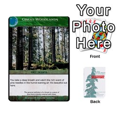Advanced Outdoor Survival Forest And Desert Encounter Deck By Michael   Playing Cards 54 Designs   Jf3o4cc8g3ml   Www Artscow Com Front - Heart4