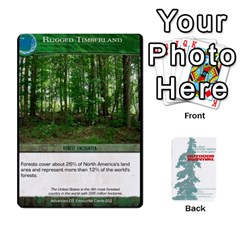 Advanced Outdoor Survival Forest And Desert Encounter Deck By Michael   Playing Cards 54 Designs   Jf3o4cc8g3ml   Www Artscow Com Front - Heart5