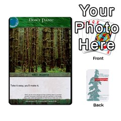 Queen Advanced Outdoor Survival Forest And Desert Encounter Deck By Michael   Playing Cards 54 Designs   Jf3o4cc8g3ml   Www Artscow Com Front - HeartQ